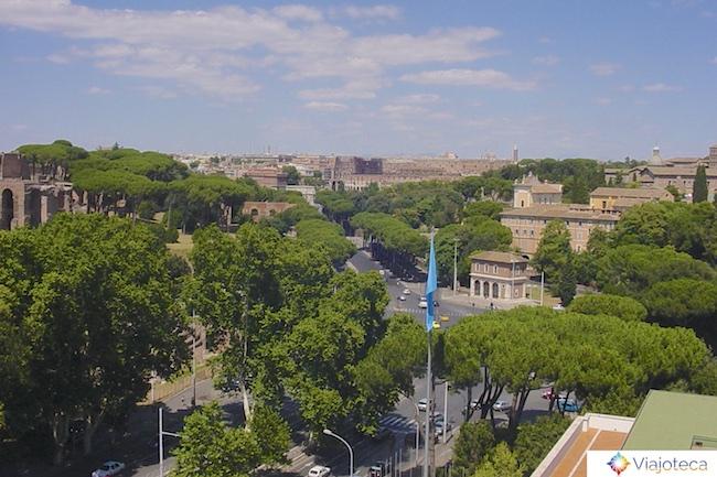 Roma vista do alto FAO