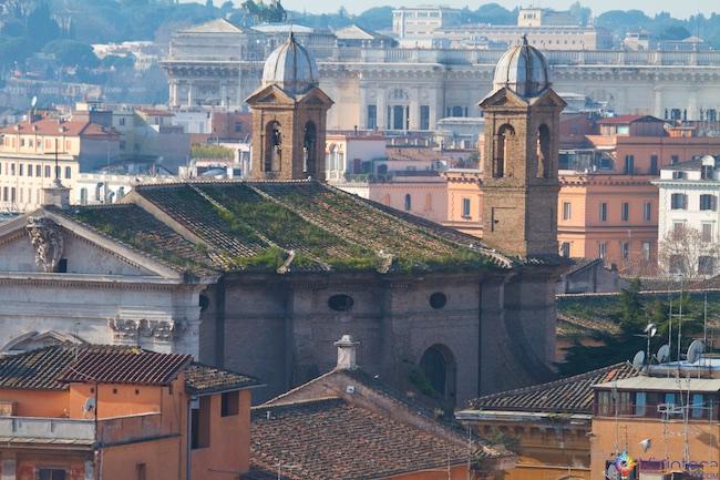 Roma vista do alto