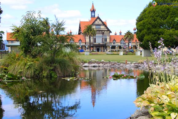 Rotorua - Jardins dos Government Gardens (12)