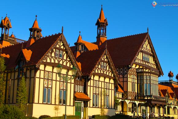 Rotorua Museum - Jardins dos Government Gardens