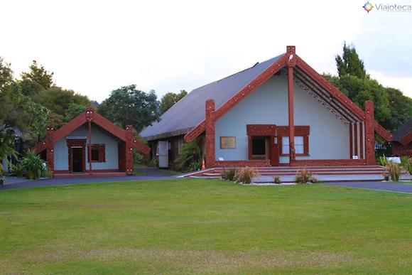 Rotowhio Marae em Te Puia – Rotorua