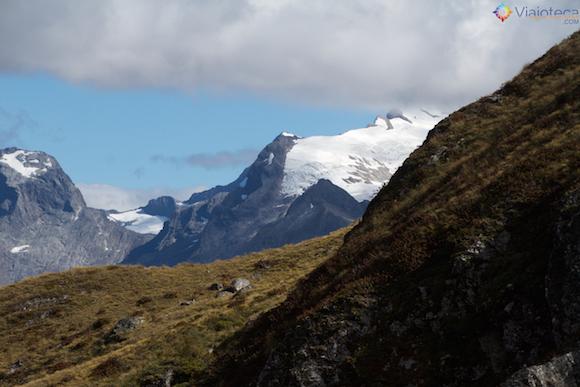 Geleiras do Mount Tutoko