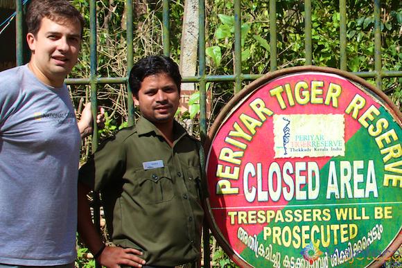 Safari na India - Lago Peryiar (8)