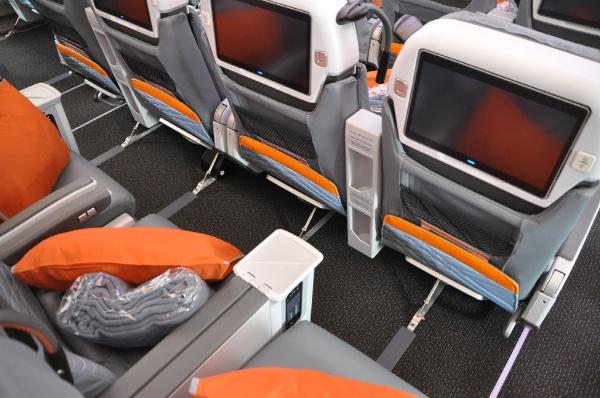 Premium Economy no A350 da Singapore Airlines