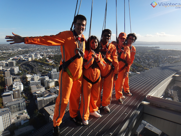 Skywalk pela Auckland Skytower