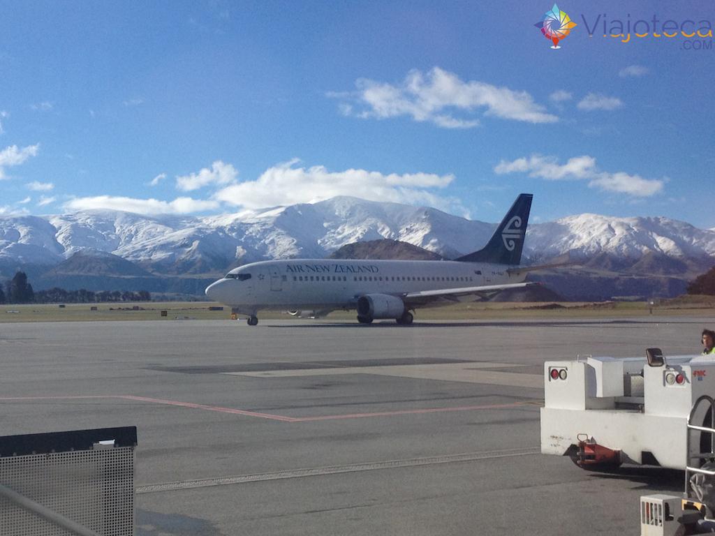 Como é voar na Nova Zelândia