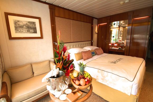 Suite no Cruzeiro na Polinésia com a Paul Gauguin Cruises