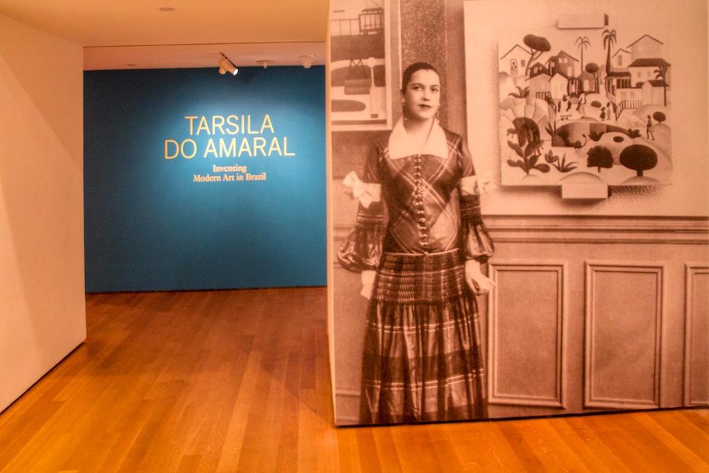 Tarsila do Amaral no MOMA em Nova York