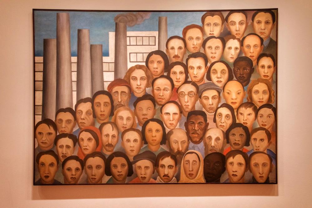 Operários Tarsila do Amaral no MOMA em Nova York