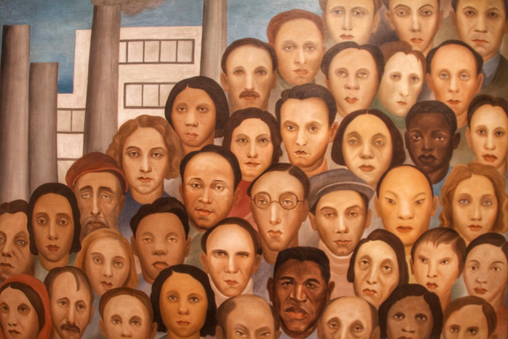Operarios de Tarsila do Amaral no MOMA em Nova York