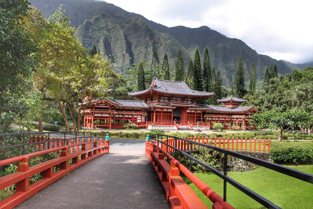 Templo Budista japonês no Hawaii