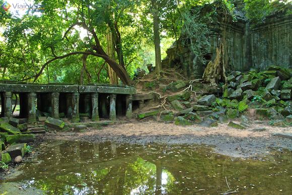 Templos no Camboja- Boeng Melea (16)