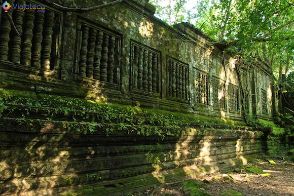 Templos no Camboja- Boeng Melea (17)