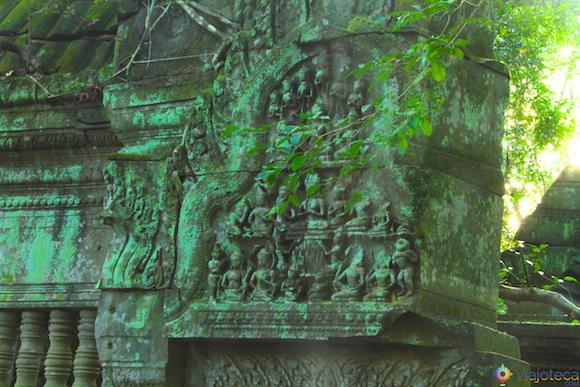 Templos no Camboja- Boeng Melea (25)