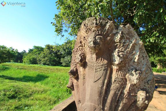 Templos no Camboja- Boeng Melea