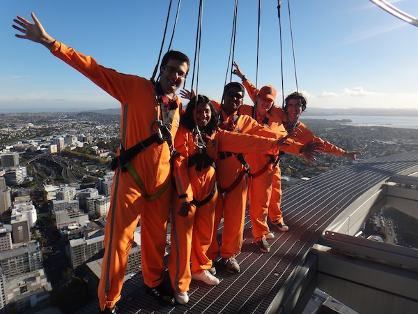 Skywalk na Torre de Auckland