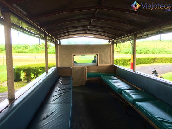 Transporte em Aitutuaki nas Ilhas Cook