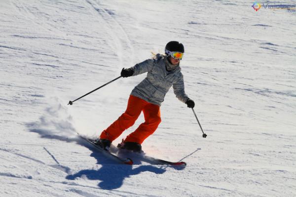 Esqui em Treble Cone na Nova Zelandia