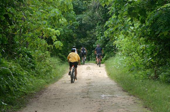 Trilhas Bicicleta em Niue