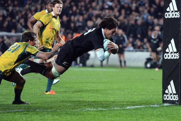 Try do All Blacks na Nova Zelândia