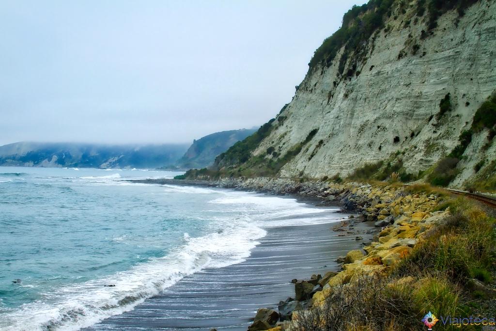 Viagem Trem Nova Zelândia - Coastal Pacific 115
