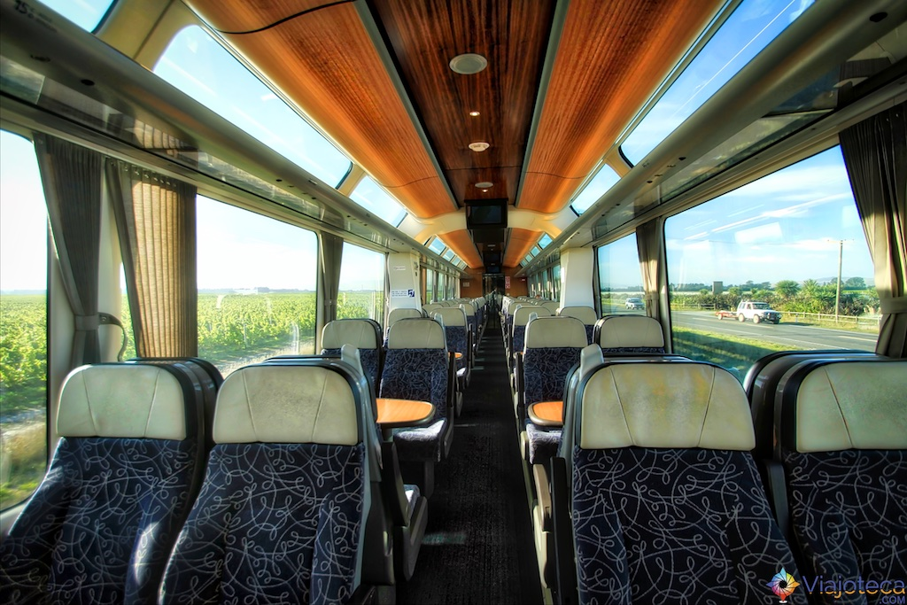 Viagem Trem Nova Zelândia - Coastal Pacific 132