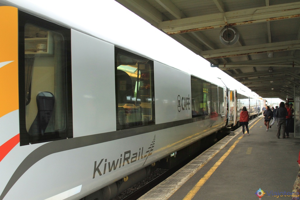 Viagem Trem Nova Zelândia - Coastal Pacific 22