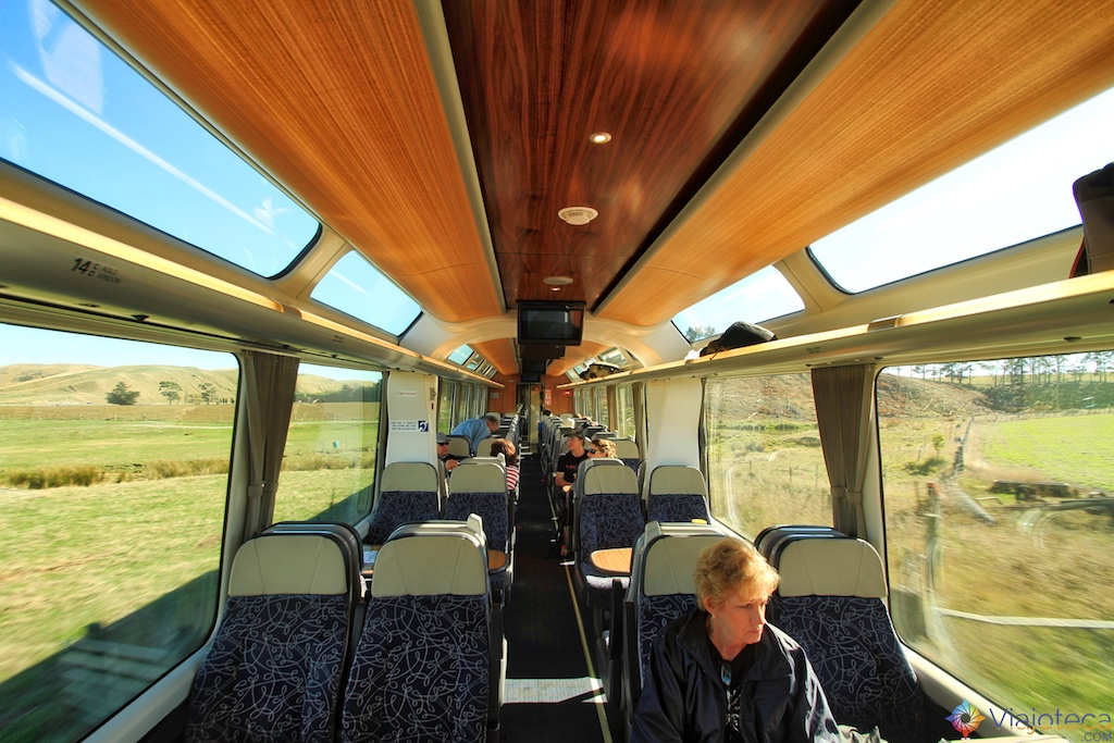 Viagem Trem Nova Zelândia - Coastal Pacific 46