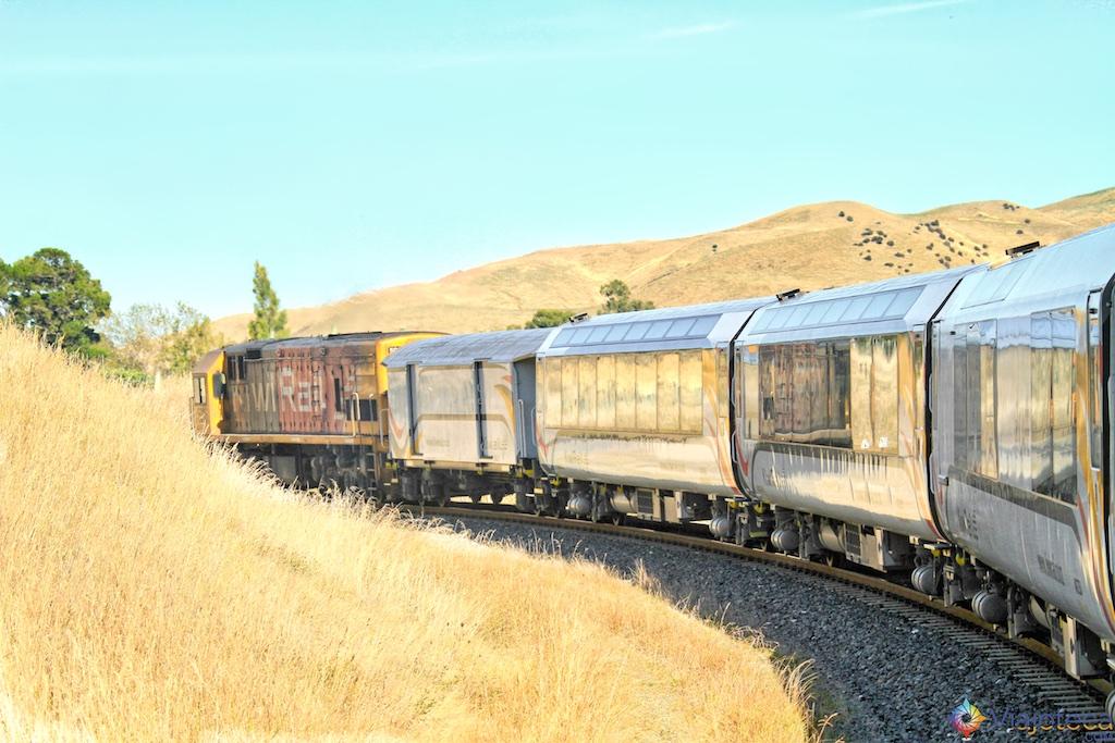 Viagem Trem Nova Zelândia - Coastal Pacific 63