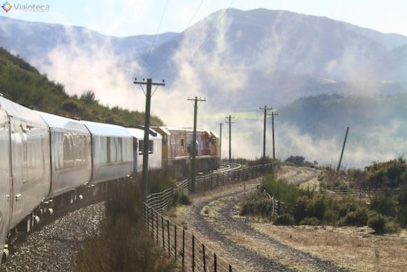 Viagem Trem na Nova Zelândia- TranzAlpine10