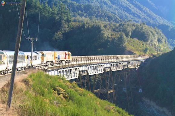 Viagem Trem na Nova Zelândia- TranzAlpine12