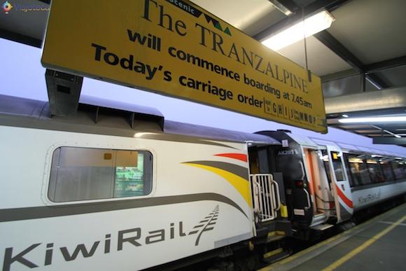 Viagem Trem na Nova Zelândia- TranzAlpine2