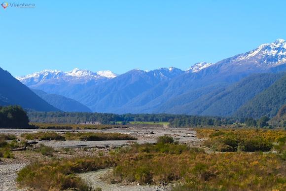 Viagem Trem na Nova Zelândia- TranzAlpine53