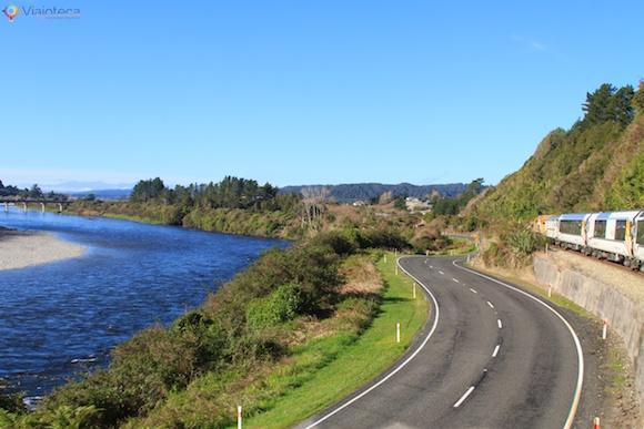 Viagem Trem na Nova Zelândia- TranzAlpine82