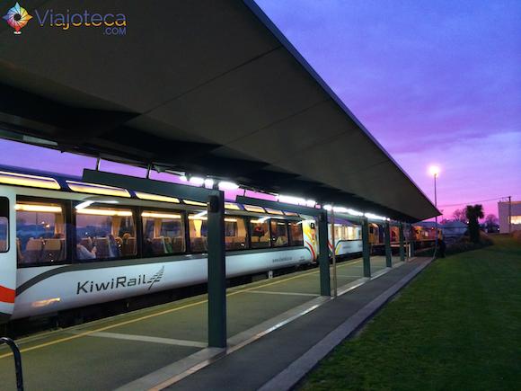 Viagem de trem na Nova Zelândia (2)