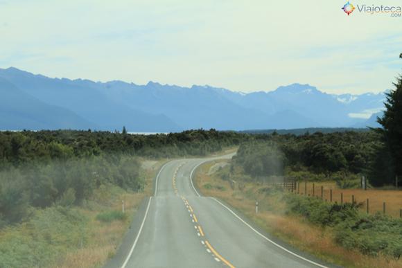 Viajando pelo Fiordland Nova Zelândia