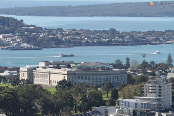 Visual com o Museu de Auckland na Nova Zelândia