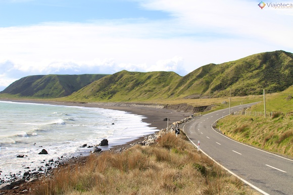 Wairarapa Coast nos arredores de Wellington