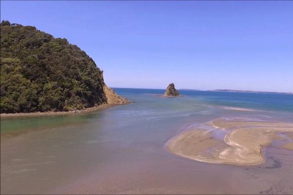 Waiwera Beach nos arredores de Aucjland 002
