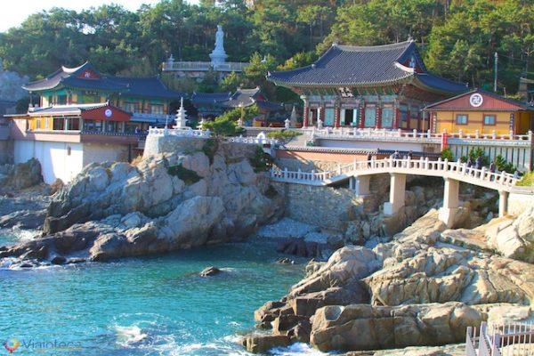 Yonggungsa Templo em Busan na Coréia do Sul