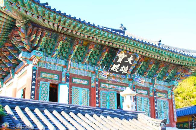 Yonggungsa templo do dragão em Busan na Coréia do Sul
