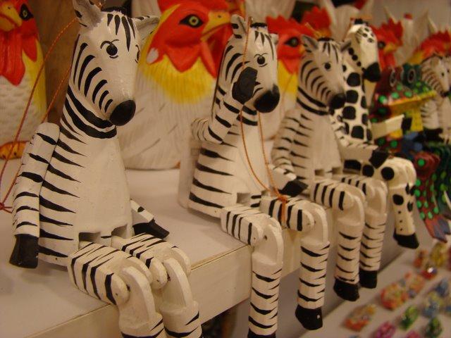 Artesanato Zebras Bali
