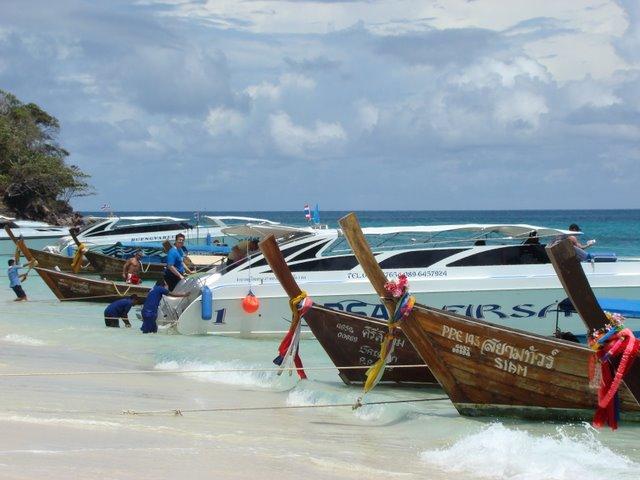 Barcos Tailandia