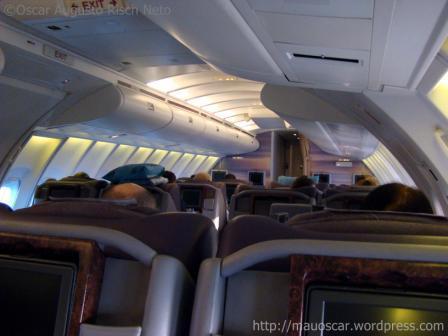 Boeing 747-400 Upper Deck