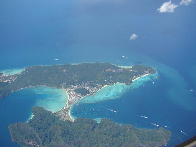 Chegando a Phuket
