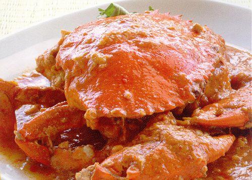 Chilli Crab de Singapura