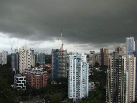 Chuva en Singapura