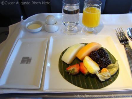 Classe Executiva Singapore Airlines