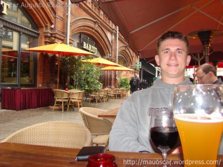 Comendo em Berlin