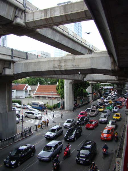 Congestionamento Bangkok